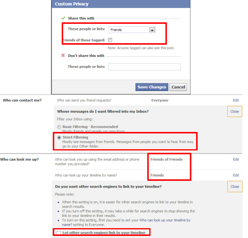 Facebook Settings 7